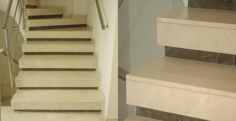 Escaleras stone control mar del plata for Escaleras de marmol